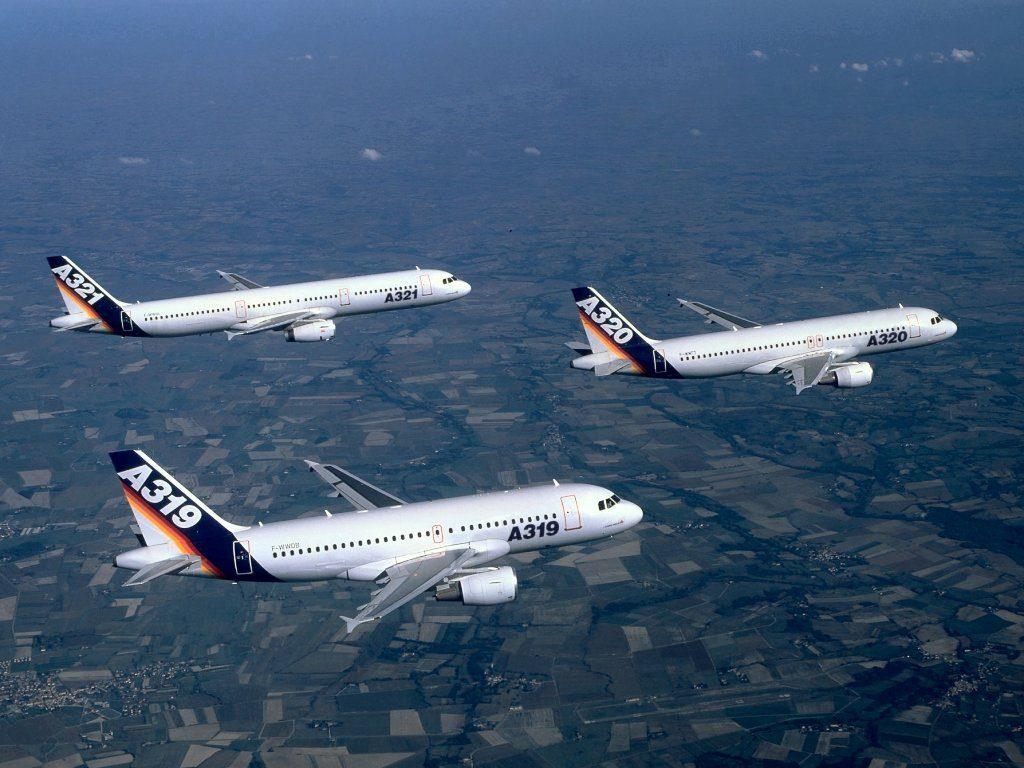 самолёты airbus фото